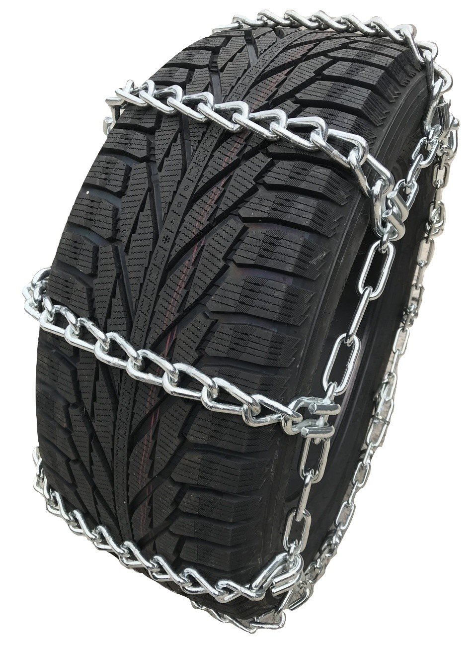 245//70 19.5 Extra Heavy Duty Mud Tire Chains Set of 2 TireChain.com 245//70R19.5