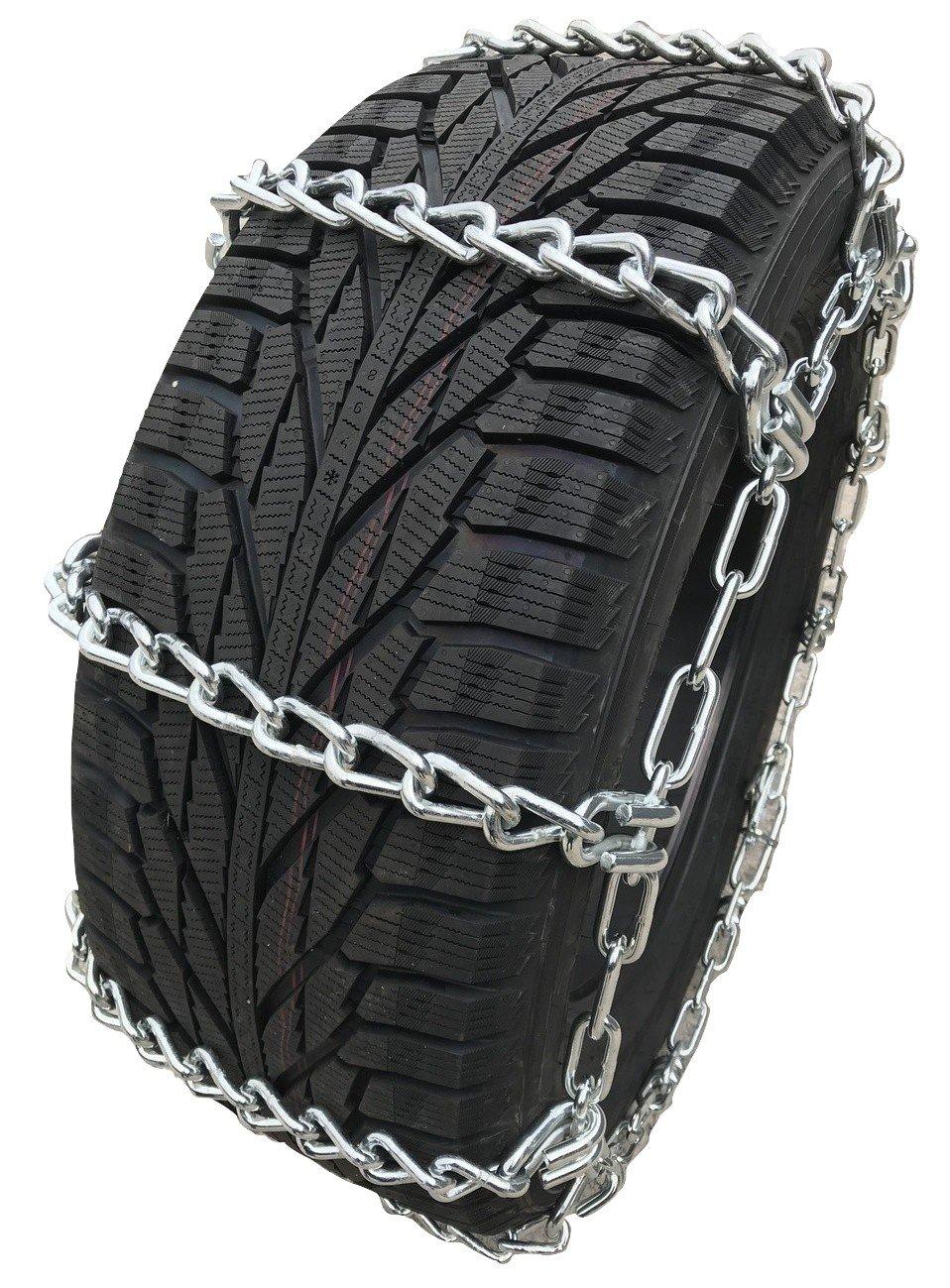 TireChain.com Heavy Duty Mud Service 5/16 Thick Tire Chains, Priced per Pair N-78-15, 265/75-15 31X10.50-15 9.50-16. 5235/80-17 P245/70-15 P275/60-15 L-78-16 LT12-16.5 215/75-17.5 P255/70-15 275/60