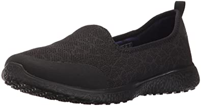 Skechers Sport Women's Microburst Its My Life Fashion Sneaker,Black,5 ...