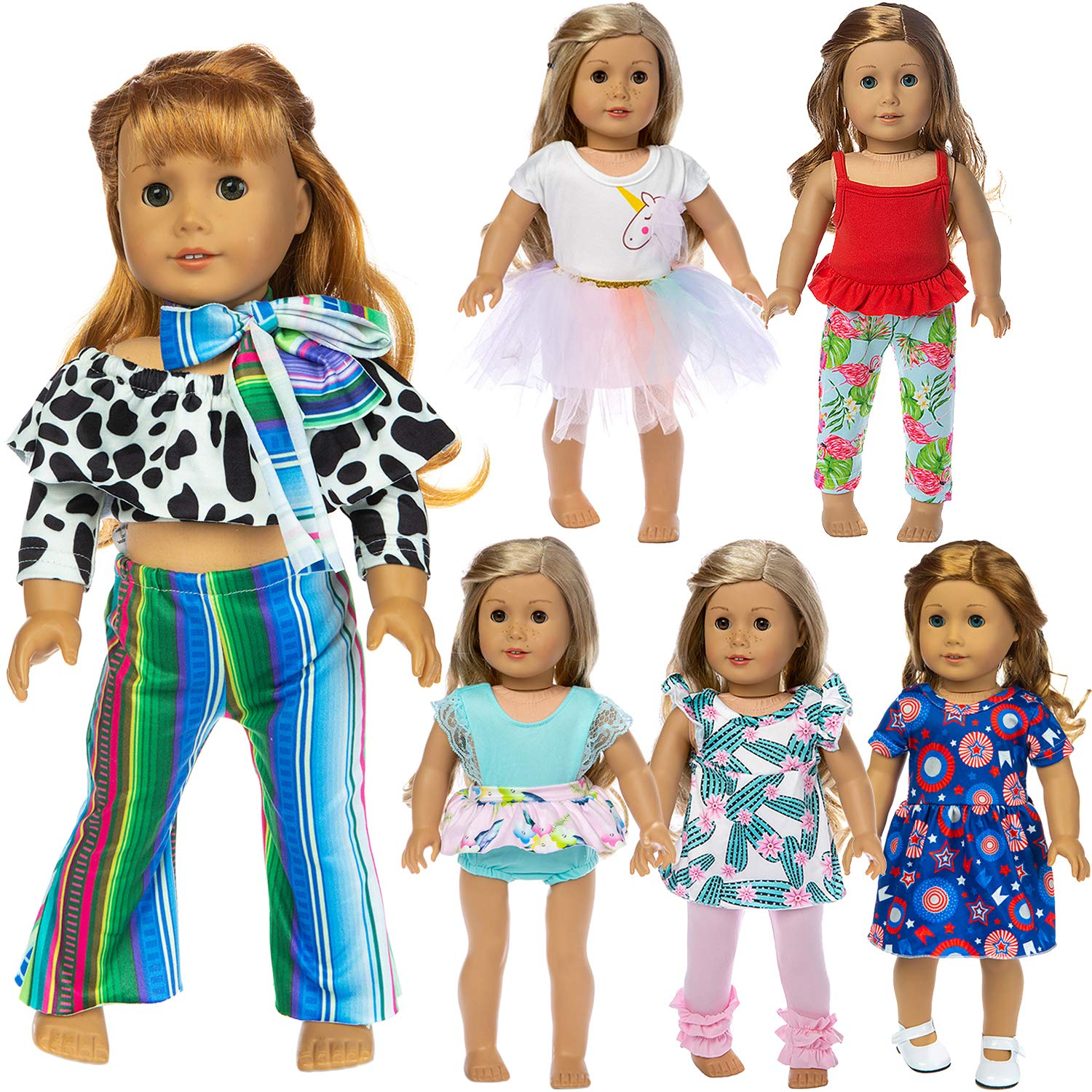 US Doctor Nurse Doll Clothes Outfit Sets for 18In Our Generation Dolls Cute Gift