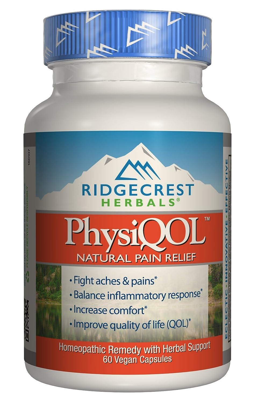 Ridgecrest Herbals PhysiQOL Supplement, 60 Count