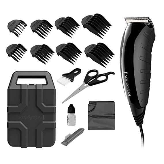 Remington Hc5850 Clippers For Cutting Black Mens Hair