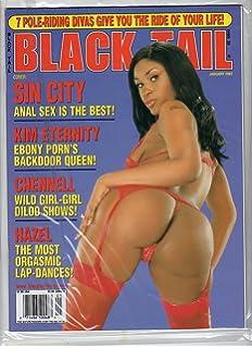 Black magazine porn tail