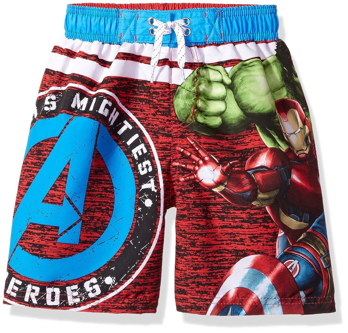 e2cabf3b9e1ef Amazon.com: Marvel Boys' Avengers Swim Shorts: Clothing