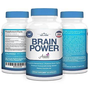 Amazon Com Premium Nootropics Brain Power Vitamin Supplement W