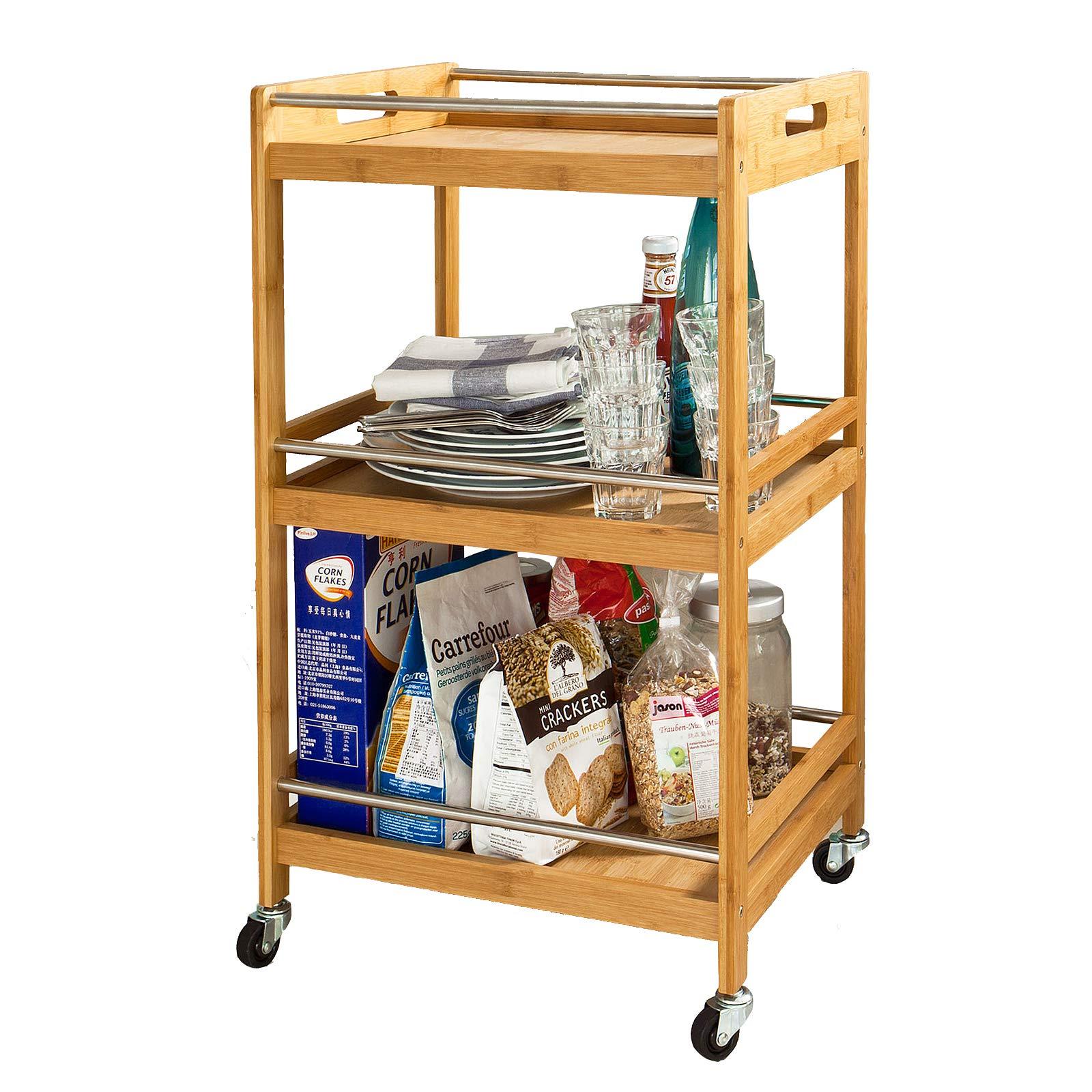 Am besten bewertete Produkte in der Kategorie Küchenwagen - Amazon.de