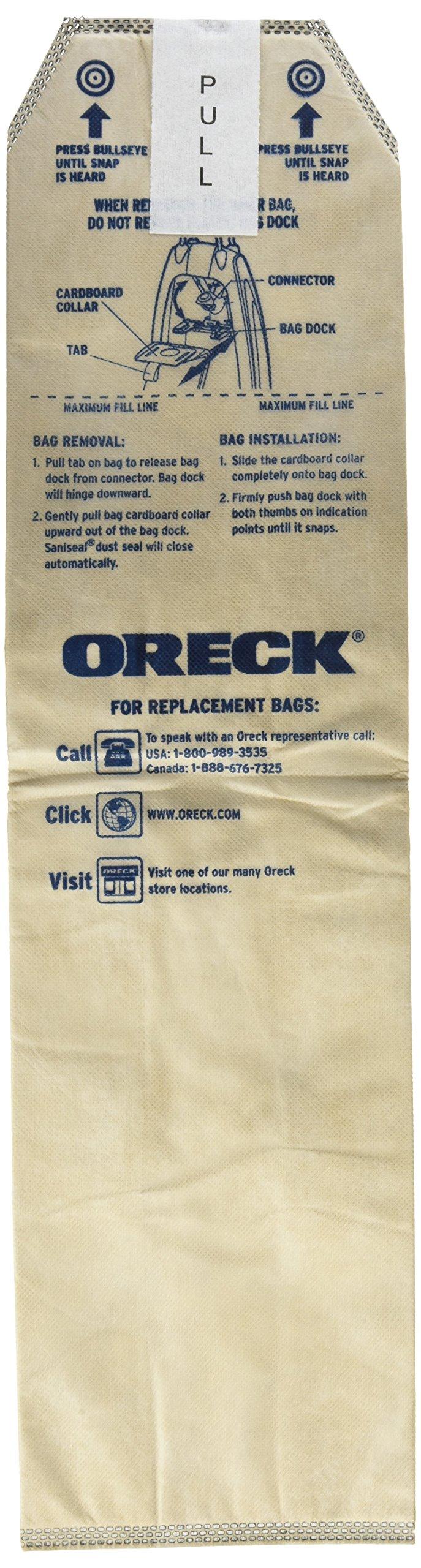 Oreck Genuine HEPA Vacuum Bags for Magnesium Vacuum - Pack of 25