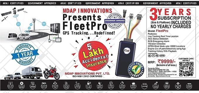 MDAP GPS Tracker: Amazon in: Electronics