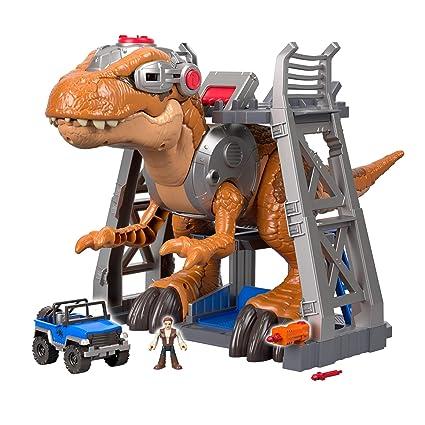 Color Fisher Price Imaginext Jurassic World T Rex Dinosaur