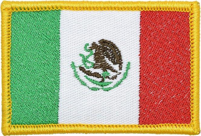 Tactical GEAR Junkie bandera de México 2 x 3 militares parche/Moral: Amazon.es: Hogar