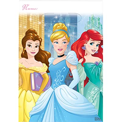 Folded Loot Bag | Disney Princess Dream Big Collection | Party Accessory: Toys & Games