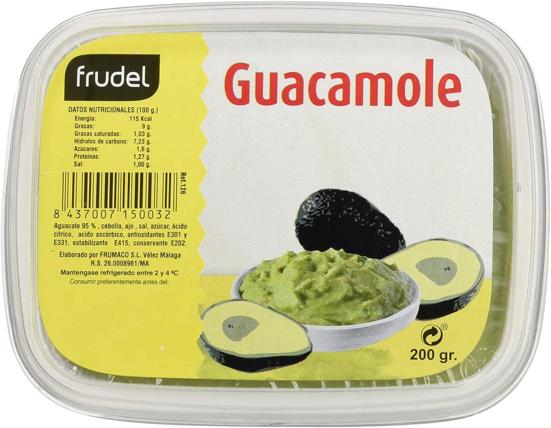 Frudel Guacamole Suave - 200 gr: Amazon.es: Alimentación y ...