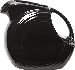 product image for Fiesta 67-1/4-Ounce Large Disk Pitcher, Black