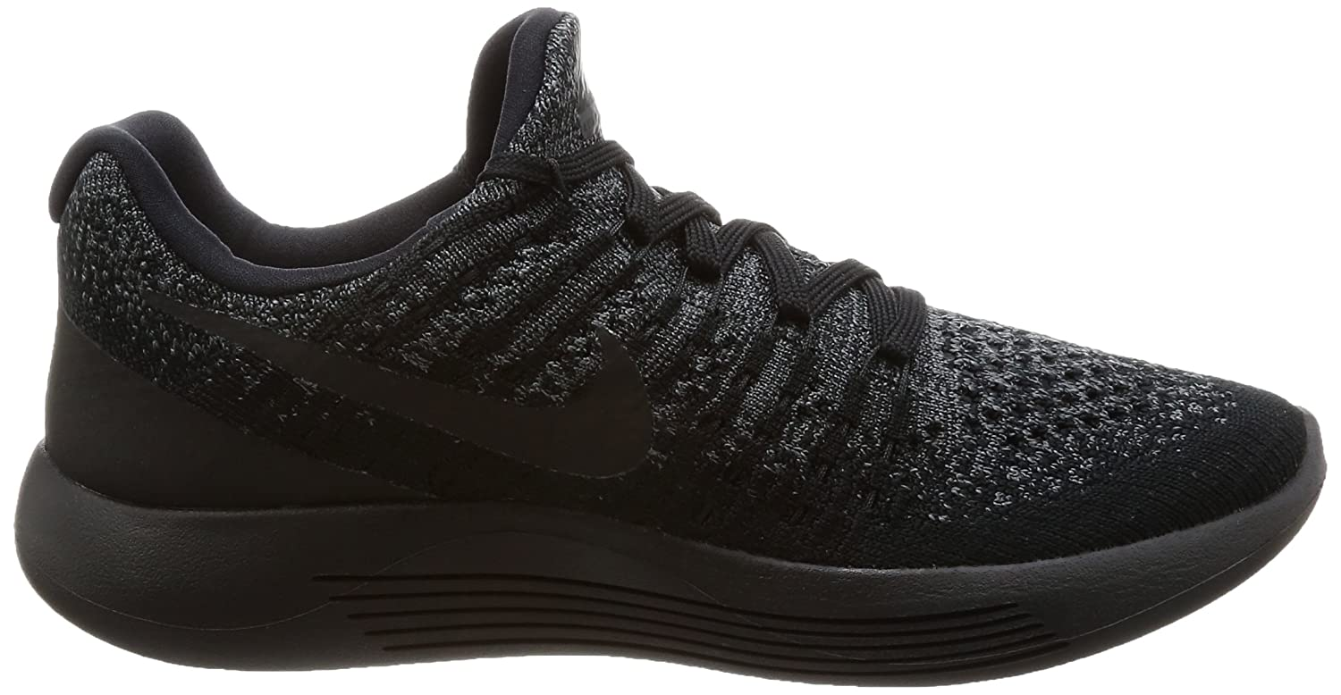 NIKE Women's Lunarepic Low B07468CYLX Flyknit 2 Running Shoe B07468CYLX Low 10.5 B(M) US|Black/Dark Grey/Racer Blue/Black 18d4f6