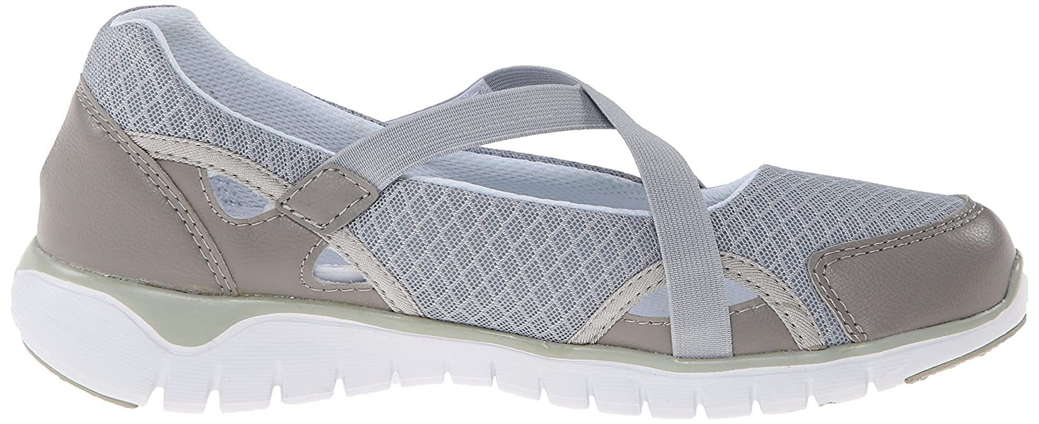 Propet Women's Travellite MJ Walking Shoe B00MUBDBAS 9 B(M) US|Silver