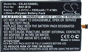 Cameron Sino 1950mAh Battery for Acer Liquid Jade, Liquid Jadeplus, S55