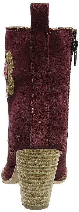 KA017, Bottes déquitation Femme - Rouge - Rouge (Wine A), 38Joe Browns