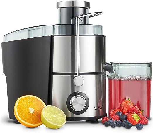 : VonShef Juicer Machine, Fruit Juice Maker, Whole