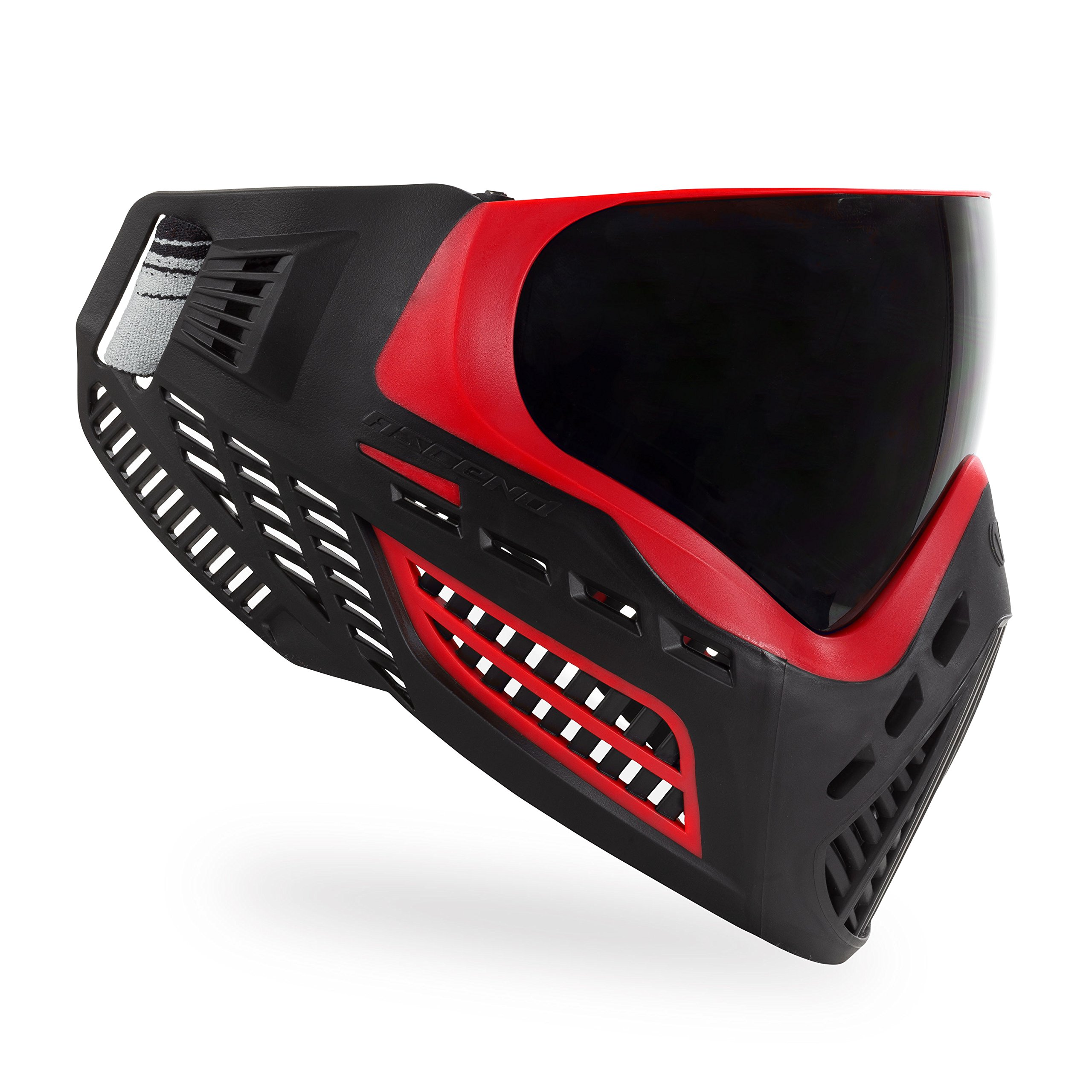 Virtue VIO Ascend Thermal Paintball Goggles with Dual Pane Lens (Red Smoke) by Virtue Paintball