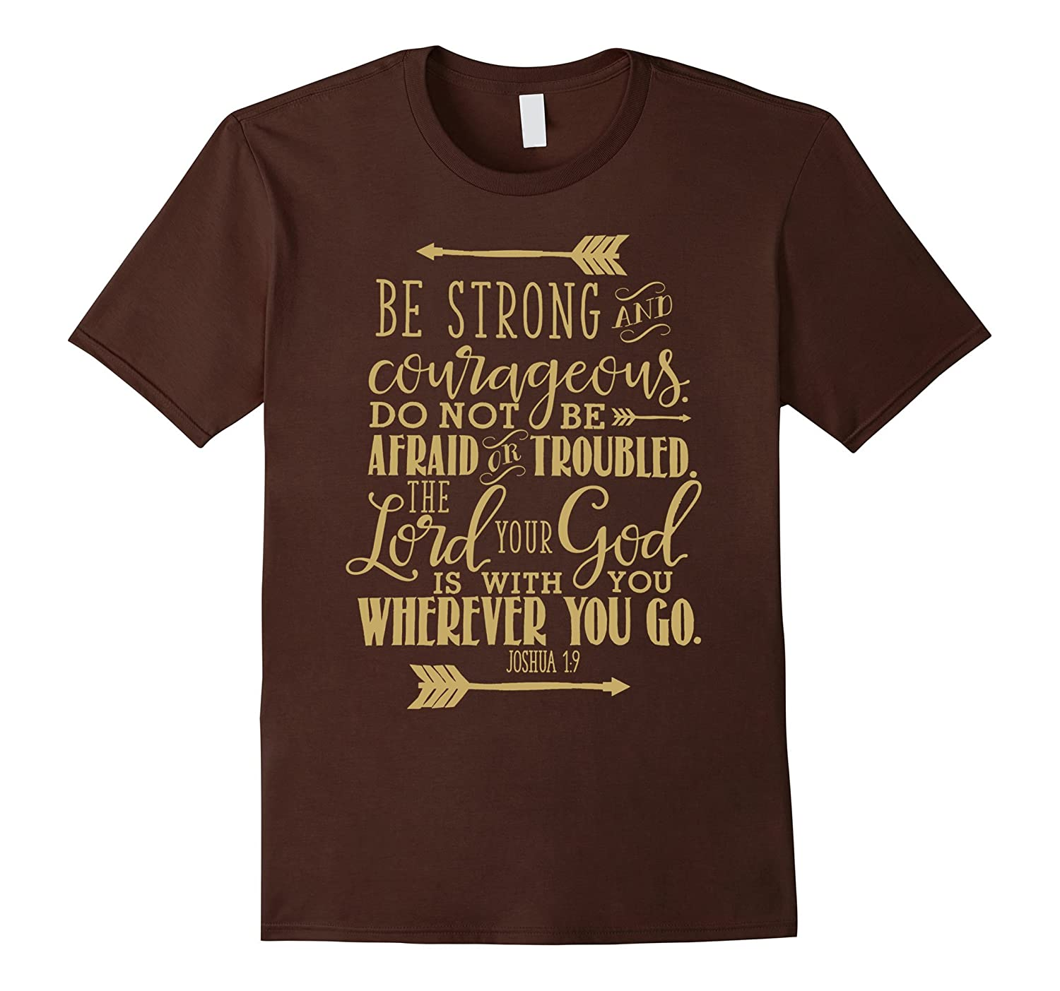 Bible Verse T-Shirt Quote - JOSHUA 19 Tan-TH