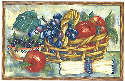 amazon com 123 fruit basket waterslide ceramic decals by the sheet