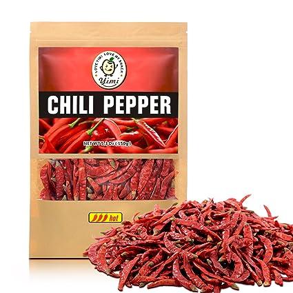 Yimi Premium Chilies secos enteros, pimientos chinos de ...