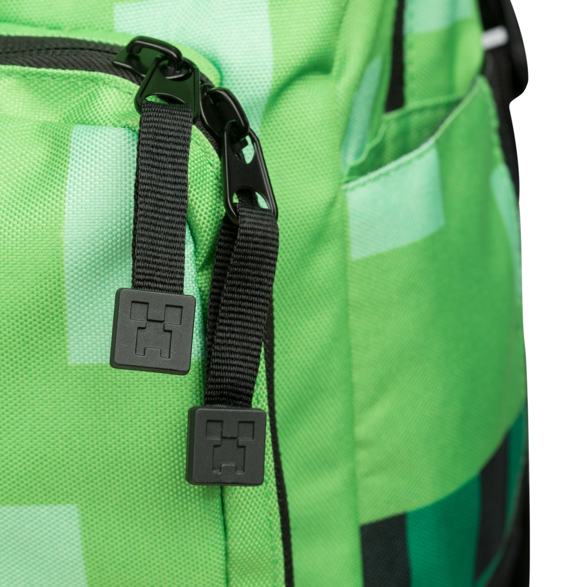 JINX Minecraft Creeper Kids Backpack (Green, 18'') for School, Camping, Travel, Outdoors & Fun by JINX (Image #6)