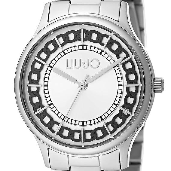 Orologio Donna Aurelia Silver TLJ1129 - Liu Jo Luxury  Amazon.it  Orologi 46534405d85