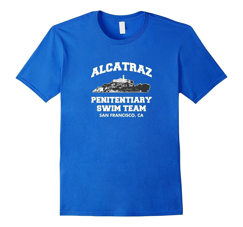 Alcatraz Penitentiary Swim Team California T-Shirt-FL
