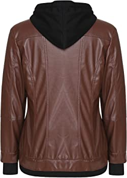 1//6 Scale Female Brown Bomber Jacket on The Smaller Side