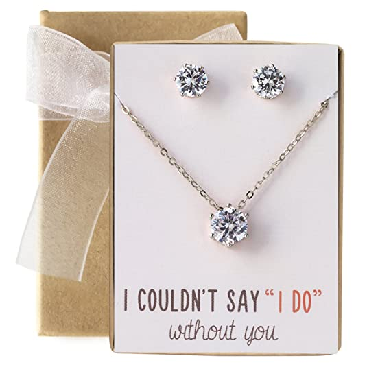 The 8 best bridesmaid jewelry sets under 20