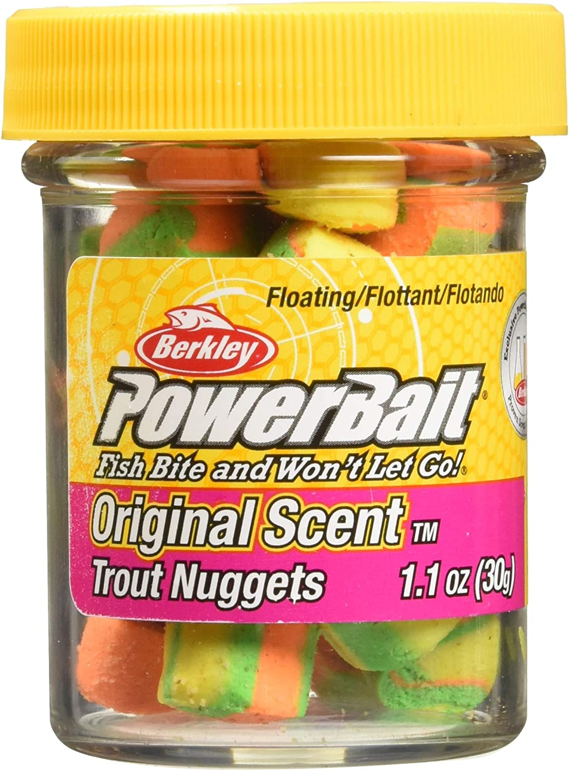 PowerBait Power Nuggets : Fishing Baits And Scents : Sports & Outdoors
