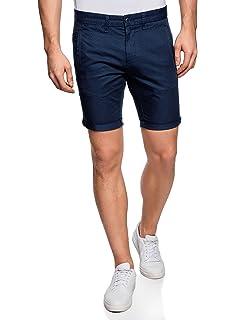 315647a41f28 oodji Ultra Uomo Pantaloncini in Cotone con Cintura: Amazon.it ...