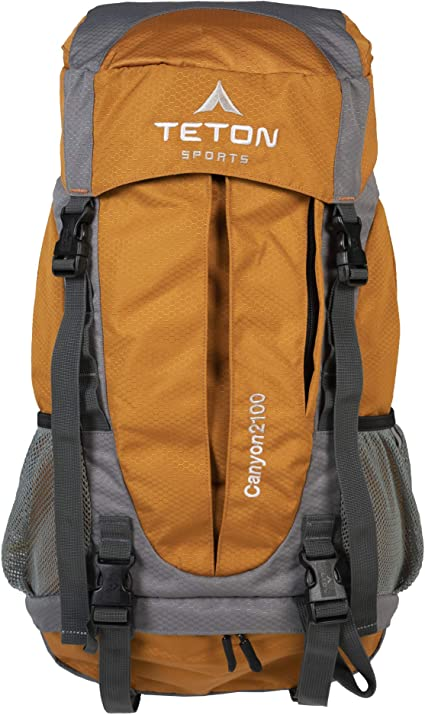 Not Your Basic Backpack TETON Sports Adventure Backpacks; Lightweight Travel and Camping Durable Daypacks for Hiking