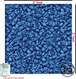 Vinyl Liner Swimming Pool Patch Kit 2 Ft x 2 Ft W/ Glue, Above or Under Water Repair Safe, Strong & Durable.
