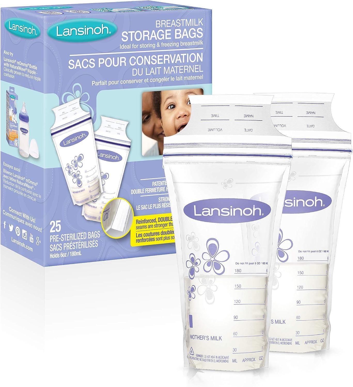 Lansinoh leche materna bolsas de almacenamiento: Amazon.com ...