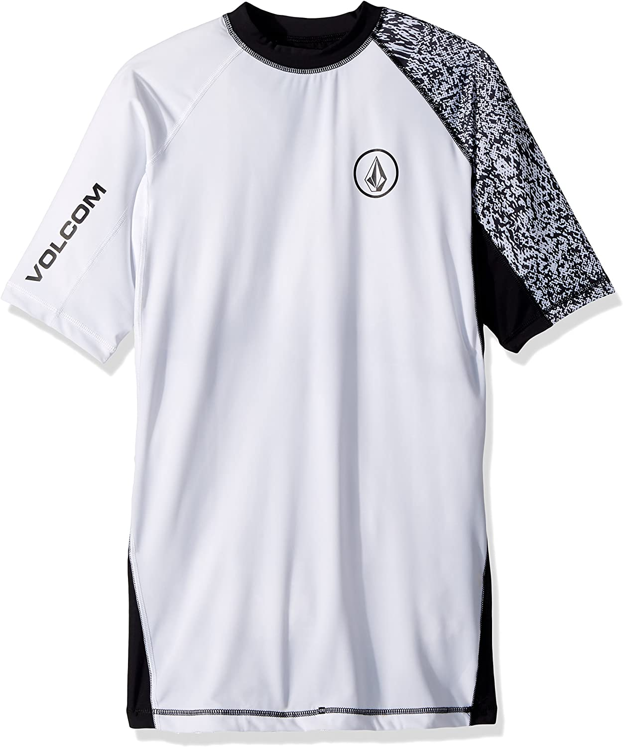 Volcom Men's Lido Block Short Sleeve Rashguard