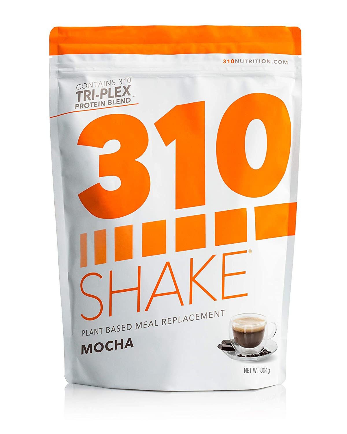 Plant Protein Powder and Meal Replacement Shake | 310 Shakes are Gluten and Dairy Free, Soy Protein and 0g of Sugar | Keto and Paleo Friendly | Includes Recipe eBook | (Mocha, 28 Servings)