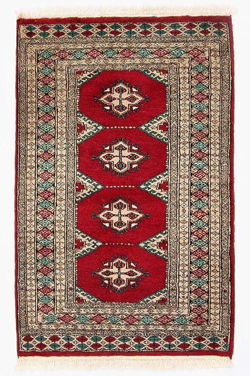 Morgenland Afghan Pakistan Buchara Teppich 119 X 79 Cm Rot