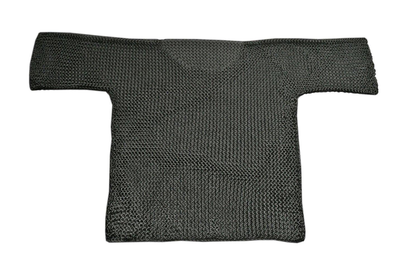 SZCO Supplies Black ChainShirt Large Steel ChainShirt