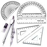 6 Piece Geometry School Set,with Quality