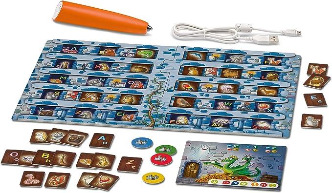 tiptoi® Starter-Set Schatzsuche in der Buchstabenburg: tiptoi® Stift mit Aufnahmefunktion und Spiel