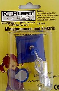 Kahlert Licht 19530 - Lampada a Sospensione per casa delle Bambole, a LED, Blu