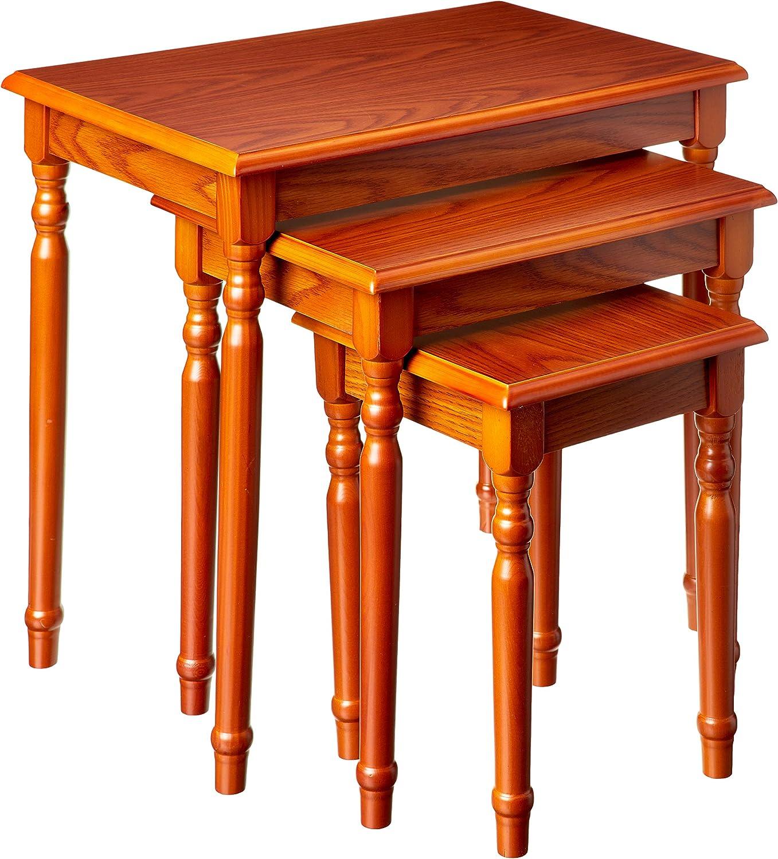 Frenchi Home Furnishing Nesting Table, 3-Piece