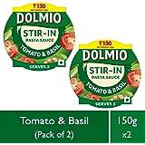 Dolmio Pasta Sauce Tomato & Basil, Stir in (Pack of 2), 2 * 150gm