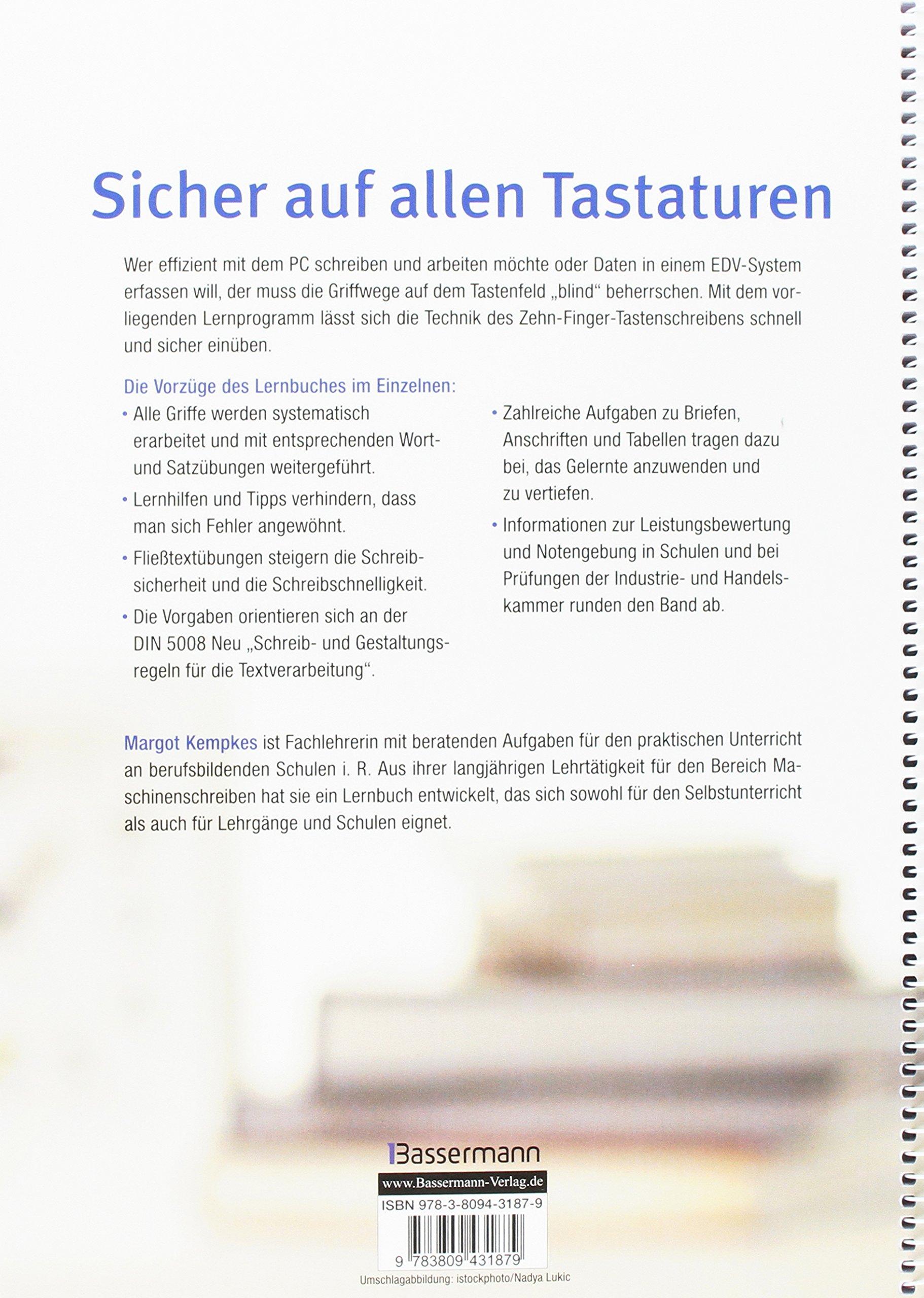 Maschinenschreiben Am Pc 9783809431879 Amazoncom Books
