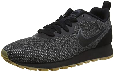 Nike Womens Md Runner 2 Eng Mesh Low-Top Sneakers, Black, 4 UK