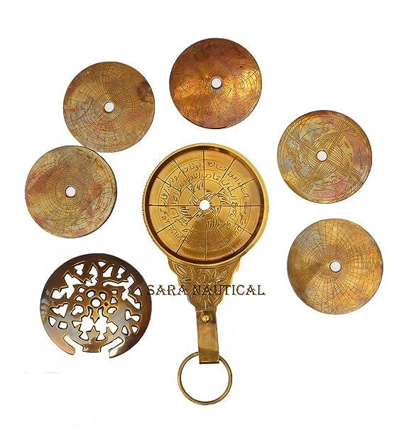 Amazon.com: Sara náutica árabe Vintage globo astrológico ...