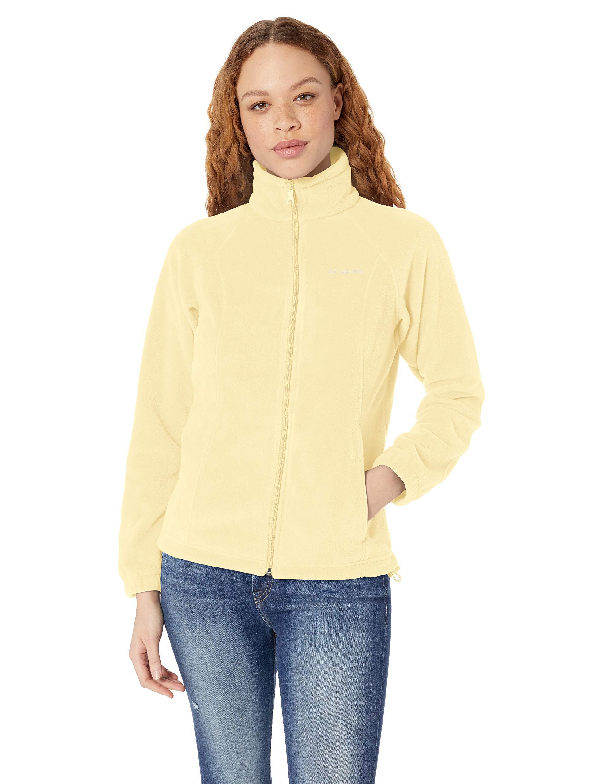 Columbia Women's Plus Size Benton Springs Full Zip Jacket, Endive 1X
