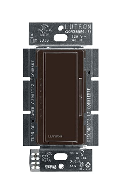 Lutron Maestro C.L Dimmer Switch for Dimmable LED, Halogen & Incandescent Bulbs, Single-